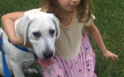 Charlie – So Sweet with our Little Girl!